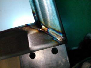 Wyroby ze stali nierdzewnej - spawanie profili nierdzewnych