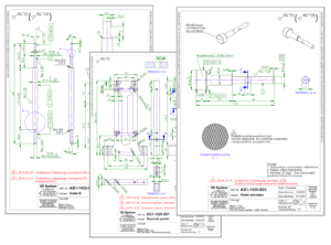 Budowa maszyn - Rysunki frezowania