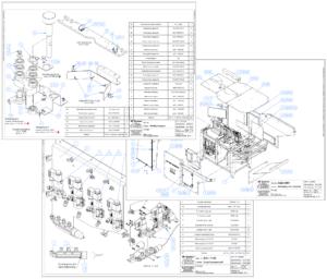 Budowa maszyn - Rysunki montażowe
